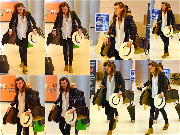 26/12/2015 : C'est avec toute sa famille qu'Harry S. a été aperçu alors qu'il arrivait à l'aéroport de MiamiD'après certaines rumeurs, Harry et sa famille seraient à Miami afin d'assister au mariage d'une amie. Ils devraient fêter la nouvelle année là-bas...