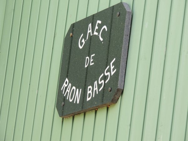 Gaec de Raon Basse