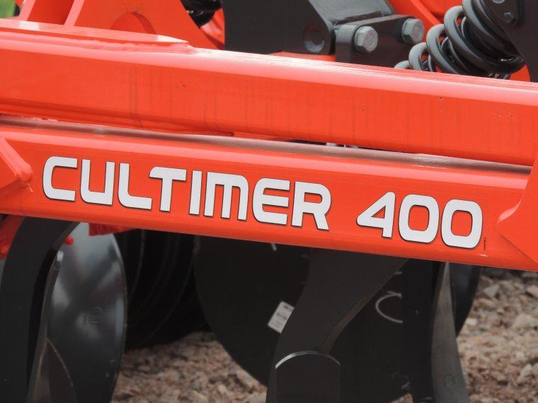 nouveau dechaumeur kuhn 4m cultimer400