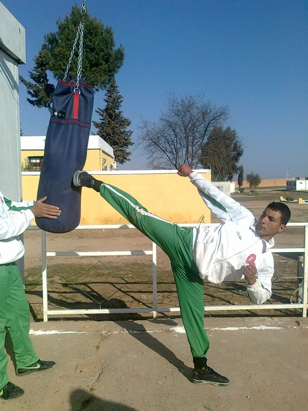 ahmed-aroma trining  trickz martial arts