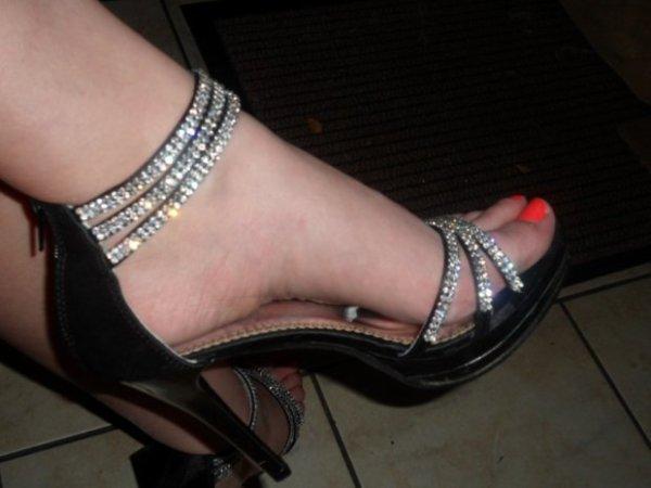 Pour une année 2013 faite de talons, les belles sandalles de Ludivine