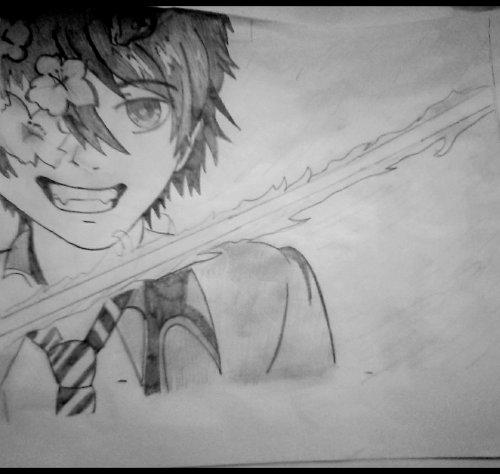 Mes dessins de Blue Exorcist ♥