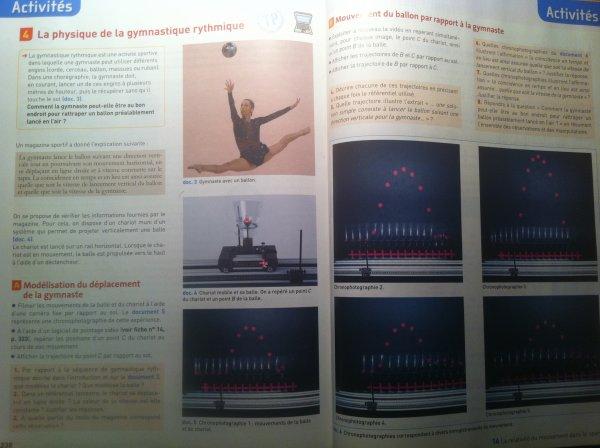La GR dans le manuel de physique !