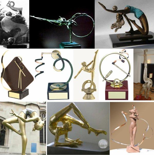 Jolies coupes et sculptures