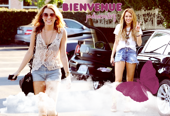 {Création by me } BiEnVeNuE oN jadoremiley
