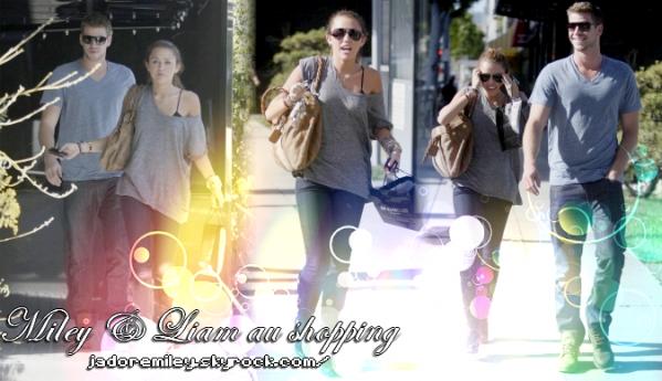 11.05.10 :: Miley & Liam font du shopping à XIV Karats, Beverly Hills. J'aime bien le Look a Miley je lui met un Top mais pour la coupe j'aime pas trop je préfère quand elle ce les détache et vous ? :)