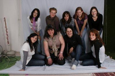 le relouquinc avec les filles du groupe des jeune maman