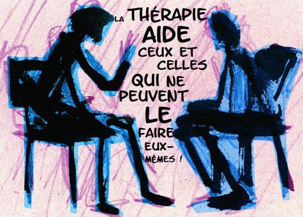 Aide-toi et  le thérapeute t'aidera !