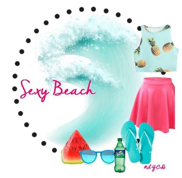 Tenue de plage (concours)