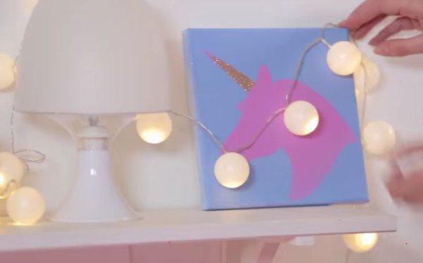 DIY Guirlande lumineuse