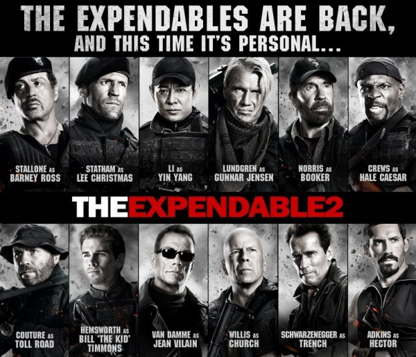 The Expendables 2 : le carnage commence part 3 !!!!