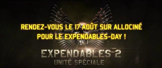 Annonce de l'Expendable's Day sur Allociné !
