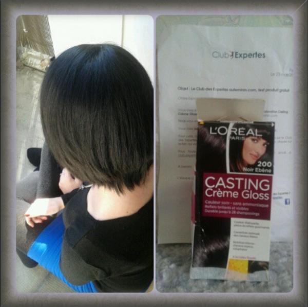 Test coloration Casting Crème Gloss