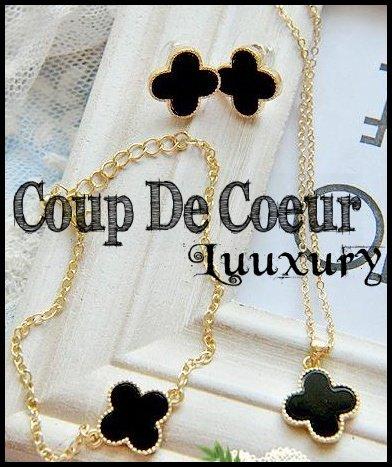 Parure Louis Vuitton (Collier + Bracelet + Boucles d'oreilles)