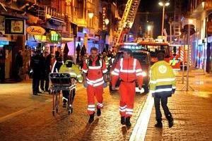 Les pompiers de Liège mobilisés pour plusieurs incendies