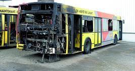 Liège: un bus en feu boulevard Kleyer