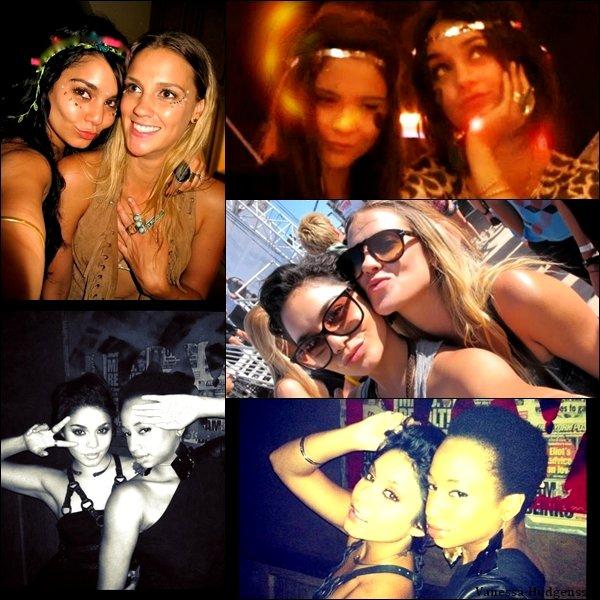 Voici de nouvelles photos perso de Vanessa avec Stella, Laura New et Monique Coleman.