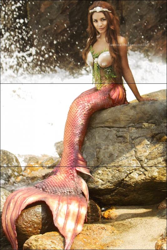 """Nouvelle photo de Vanessa pour le photoshoot """"Project Mermaids"""". Qu'en pensez-vous ?"""