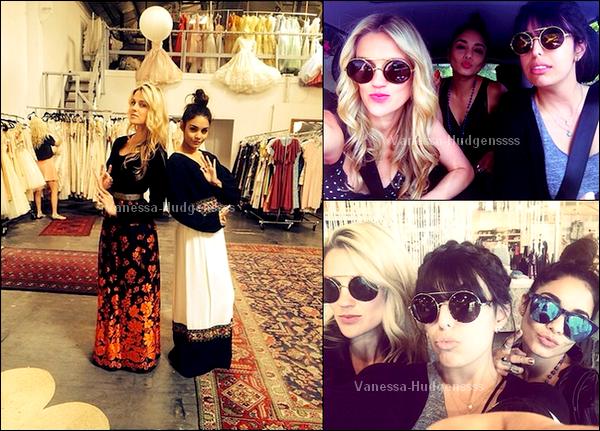 """29.03.2014 : Vanessa a été vue se rendant à son cours de yoga au """"Yoga Shelter"""" dans Studio City. Je n'aime pas sa tenue, FLOP pour moi. Je n'aime que ses lunettes, et vous ?"""
