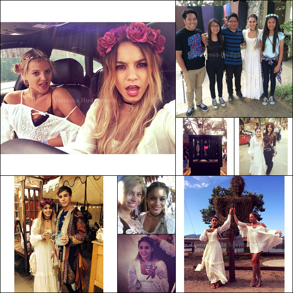 27.04.2014 : Vanessa a été aperçue dans la matinée avec Austin, se rendant dans une église de Los Angeles. FLOP pour Vanessa