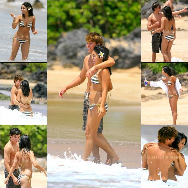 [Article flash back] - 01.05.2007 : Vanessa était avec Zac à Hawaï. Ils étaient tellement mignons..