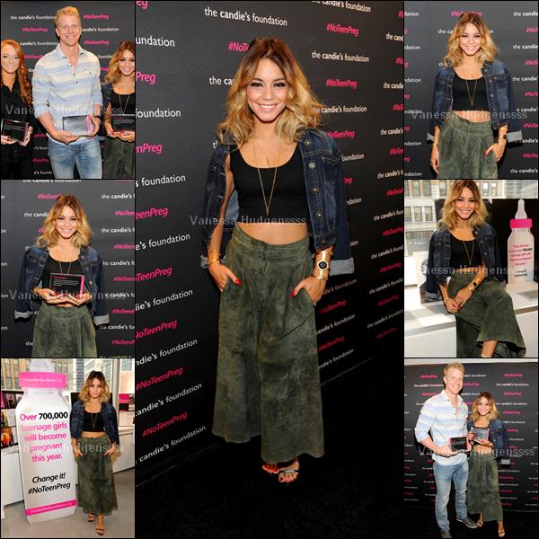"""07.05.2014 :  Vanessa était présente à la soirée """"The Candie's Foundation"""" à Los Angeles. BOF, je n'aime pas du tout sa jupe, et vous ?"""