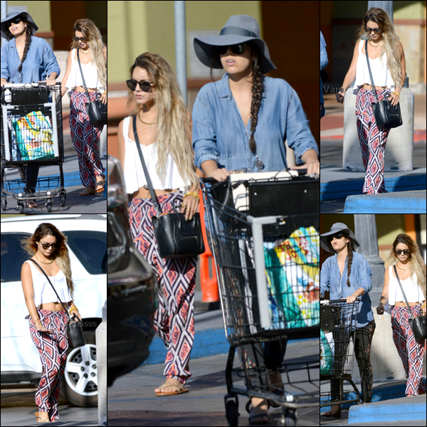 28.05.14 : Vanessa est allée faire quelques courses dans une épicerie à Los Angeles avec une amie, Natalie Saidi. TOP pour Vanessa. Vos avis ?