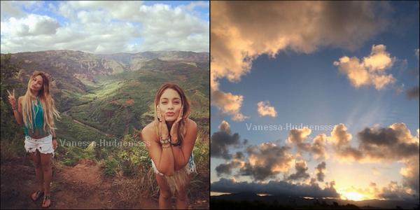 Vanessa a passé quelques jours à Hawaii, voici quelques photos perso de la miss.