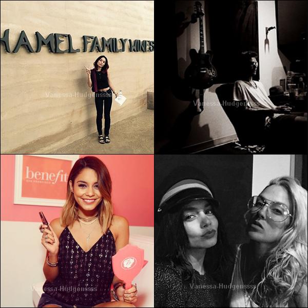 05.10.2014 : Vanessa a été aperçue dans les rues de Los Angeles. FLOP pour sa tenue. Vos avis ?