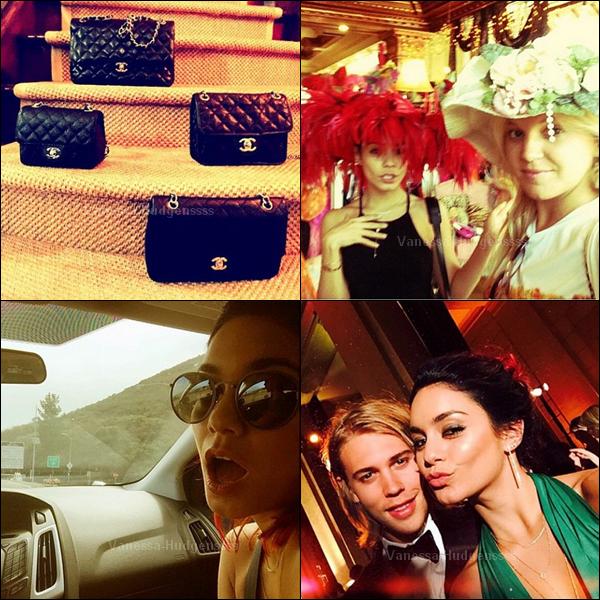"""10.10.2014 : Vanessa et Austin Butler étaient présents au 10ème anniversaire du Gala """"Gorgeous and Green"""" à San Fransisco. Nessa était magnifique, TOP. Vos avis ?"""