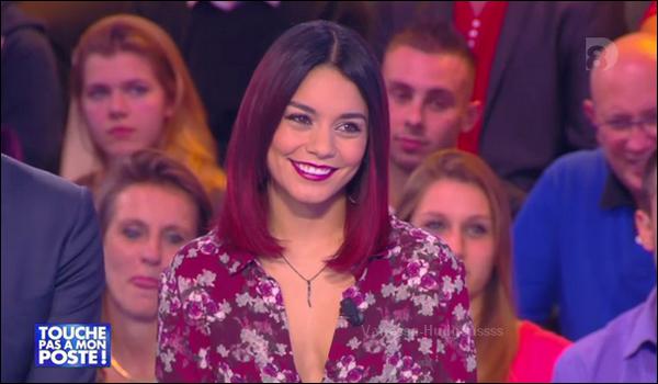 22.10.2014 : Vanessa était à Paris, et elle était l'invitée de Touche pas à mon poste. Vanessa était toute belle. Gros TOP. Vos avis?