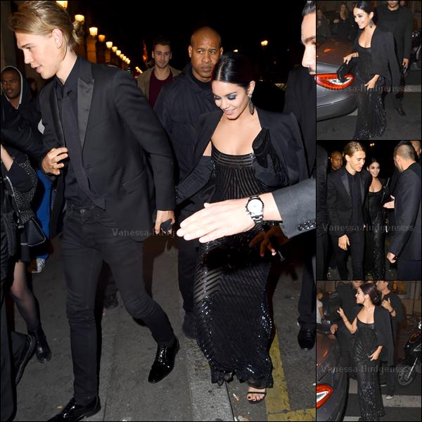 """26.10.2014 : Vanessa était présente à l'avant première du film """"Gimme Shelter"""" au grand Rex, à Paris. Vanessa était magnifique, j'aime beaucoup sa robe et son make up. Vos avis ?"""