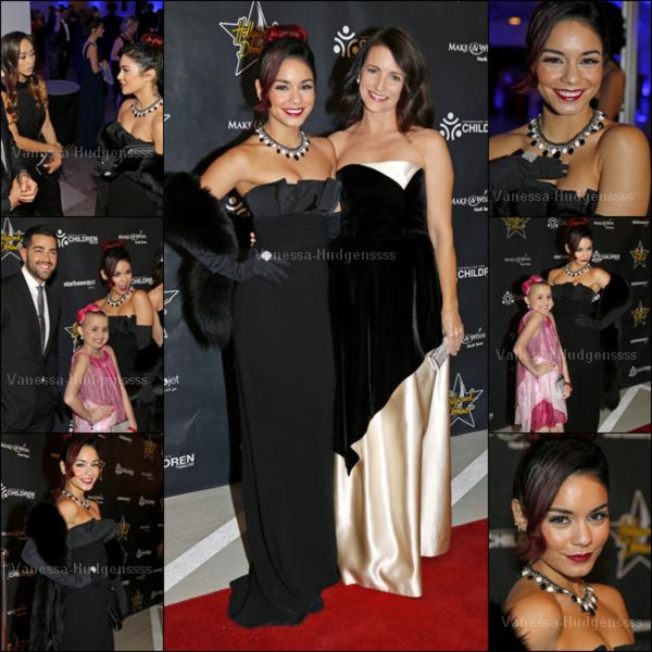 """08.11.2014 : Vanessa était présente aux """"Hollywood Domino Dallas Charity Event"""" aux Texas. Nessa était magnifique. TOP ! Vos avis ?"""