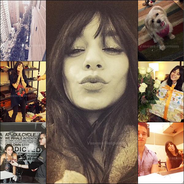 En ce moment il n'y a pas trop de news de Vanessa, à part quelques photos personnelles. La belle est actuellement à New-York.