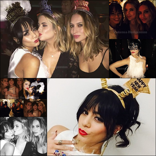 Voici de nouvelles photos perso de Vanessa au réveillon du nouvel an. Comment la trouvez-vous ?