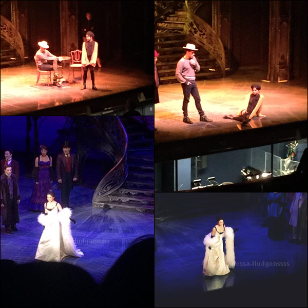 16.01.2015 : Vanessa a fait sa première représentation en tant que Gigi à Broadway, voici quelques photos. Désolée pour la qualité des images qui n'est pas terrible.