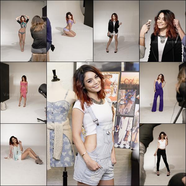 """Voici de nouvelles photos du photoshoot que Vanessa a réalisé pour la collection de printemps de """"Bongo"""". Vanessa est sublime ! Vous en pensez quoi ?"""