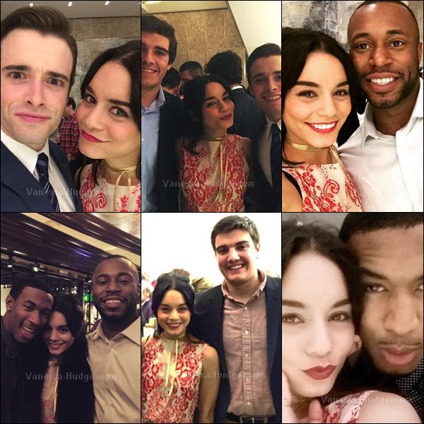 """29.01.2015 : Vanessa était présente aux """"Opening Night Cast Party"""" à Washington. Nessa est toute mignonne ! Vos avis ?"""