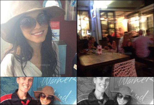 Vanessa est actuellement en vacances en Nouvelle-Zélande avec son chéri Austin Butler. Après un bref passage à Los Angeles, la belle est partie en vacances. C'est pour cela qu'il n'y a pratiquement plus de news de Nessa depuis quelques jours. Elle a pris le temps de faire quelques photos avec ses fans