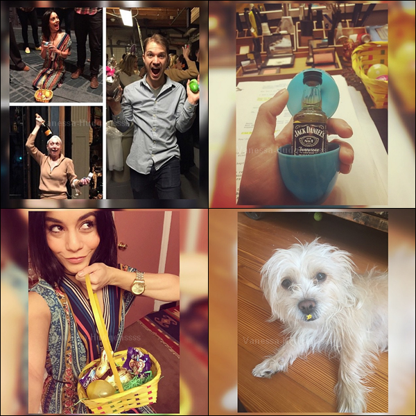 04.04.2015 : Vanessa a été vue sortant de son appartement à New-York. J'aime bien sa tenue, surtout ses chaussures. TOP ! Vos avis ?