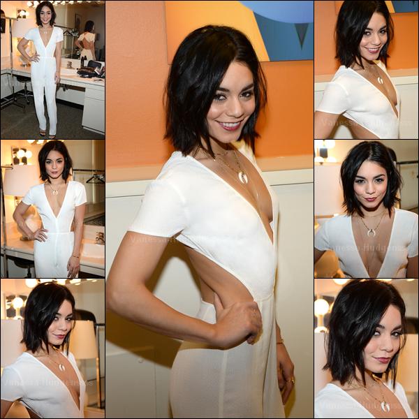 14.04.2015 : Vanessa a d'abord été vue quittant son appartement dans New-York. Je n'aime pas du tout sa tenue, je la trouve beaucoup trop sombre. FLOP. Vos avis ?