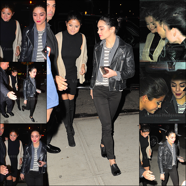 02.05.2015 : Vanessa a d'abord été vue quittant son appartement à New-York. J'aime bien sa tenue. TOP. Vos avis ?