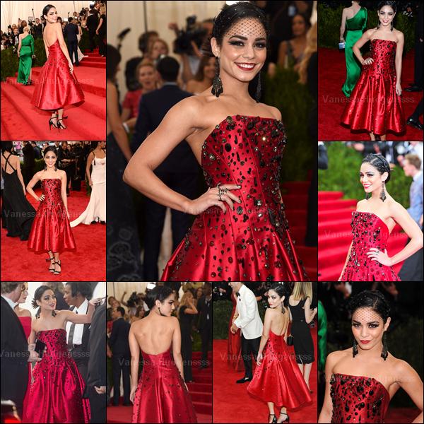 """04.05.2015 : Vanessa était présente au """"Met Gala 2015"""" qui se déroulait à New-York. Cette année le thème était la Chine. Vanessa portait une robe H&M, ça lui va assez bien je trouve. Petit TOP. Vos avis ?"""