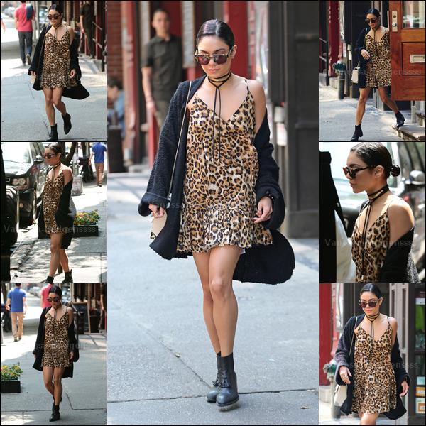 16.05.2015 : Encore une fois de plus, Vanessa a été photographiée quittant son appartement à New-York. J'aime bien sa tenue, TOP. Vos avis ?