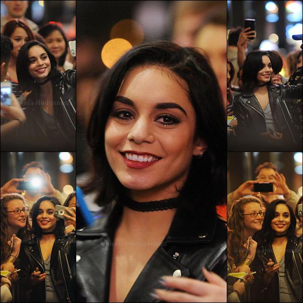 """22.05.2015 : Vanessa a été vue quiitant le """"Neil Simon Theatre"""" après la représentation de GIGI. Une fois de plus, Nessa était toute belle. Vos avis ?"""
