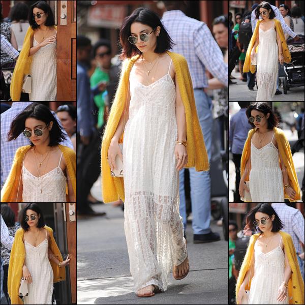 24.05.2015 : Vanessa a été photographiée quittant son appartement à New-York. J'aime sa tenue, TOP. Vos avis ?