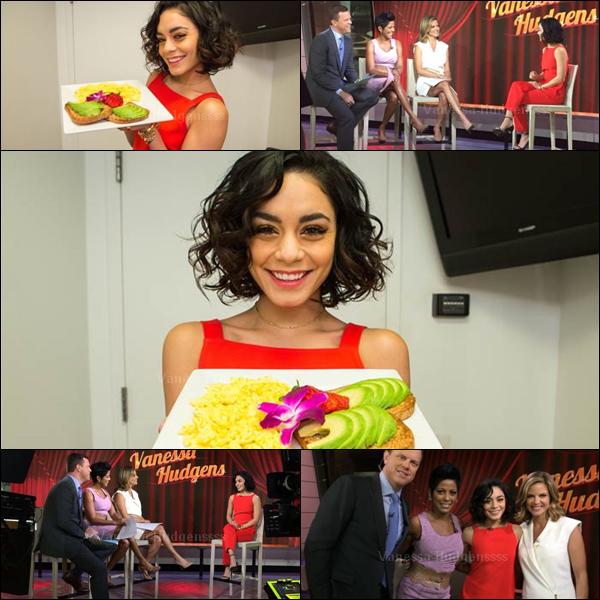 """29.05.2015 : Vanessa était présente au """"Today Show"""". Elle était toute jolie ! TOP. Vos avis ?"""
