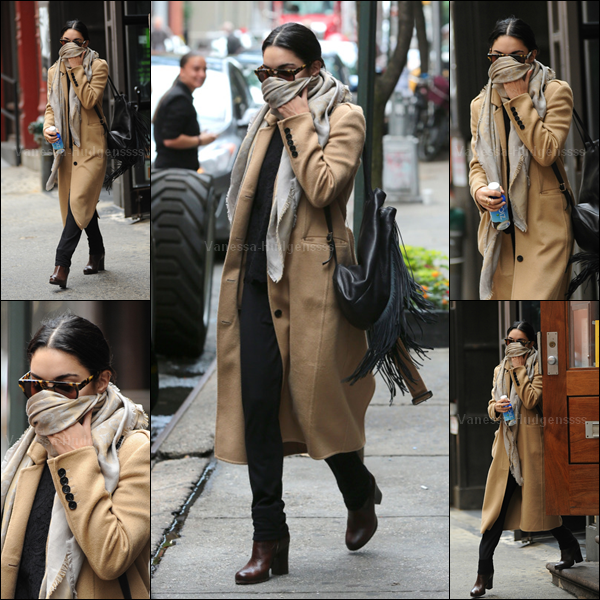 03.06.2015 : Vanessa a une fois de plus été photographiée sortant de son appartement à New-York. Comme la tenue du 02.06, qui ressemble assez à celle-ci, je n'aime pas du tout. FLOP. Et vous ?