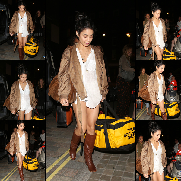 """03.08.2015 : Vanessa a été photographiée arrivant à l'hôtel """"Chiltern Firehouse"""" à Londres. Je trouve Vanessa tout simplement magnifique, TOP. Vos avis ?"""