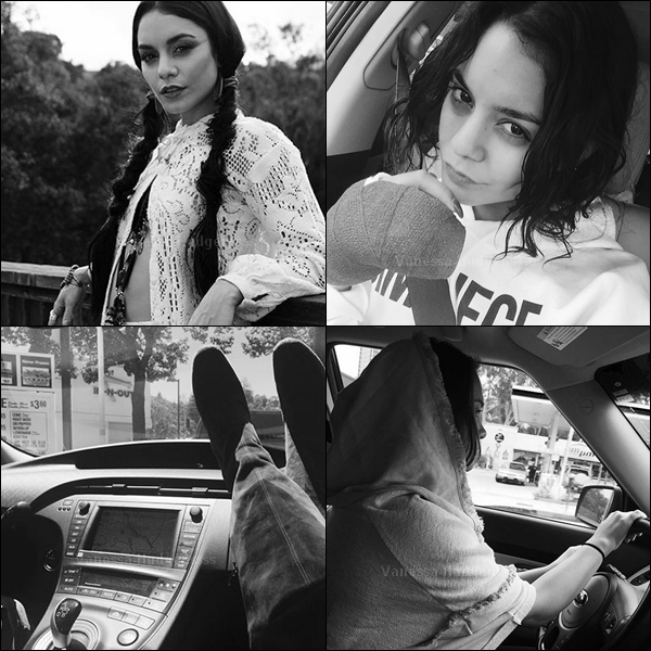 """13.08.2015 : Vanessa a été photographiée allant au """"Aroma Cafe"""" dans Studio City, avec un ami. Bof pour sa tenue. Vos avis ?"""